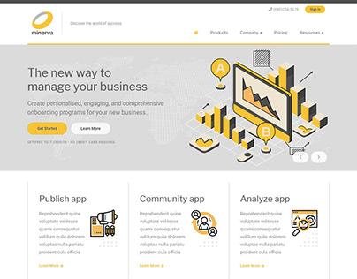 Minerva - Minimalist Business HTML Template