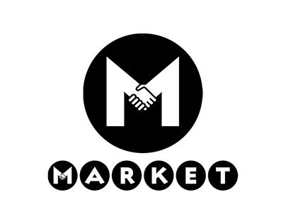 Market; Online Marketplace - Logo Design
