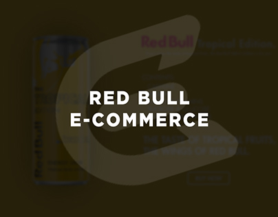 Red Bull | E-Commerce Page