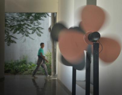 '' FANS '' - An interactive art installation