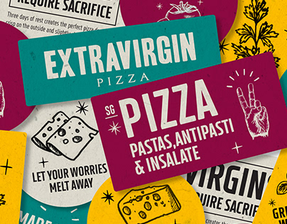 Extravirgin Pizza - Bringing back the play into a slice