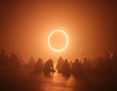 Children of the Light: Warping Halos