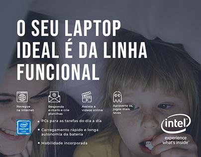 Tela interativa Intel