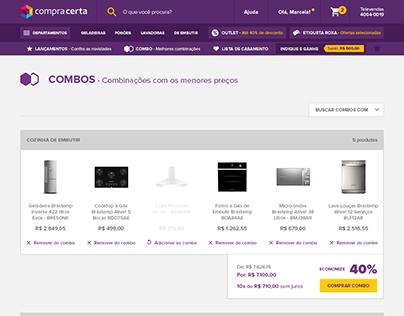 Landing Page para E-commerce - Compra Certa