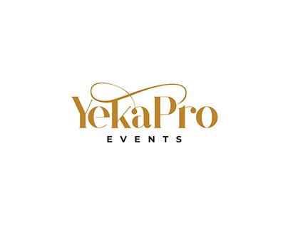 REBRANDING PROJECT FOR YEKAPRO EVENTS