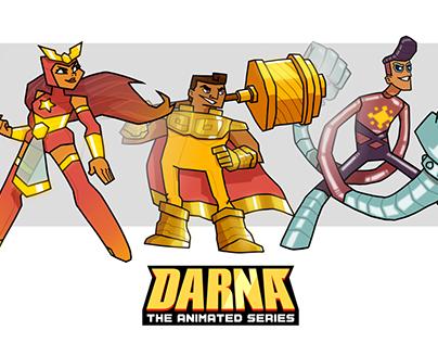 Darna, Lastikman, & Captain Barbell (Character Design)