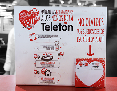 Campaña Unimarc + Teletón, POP, Campaña Gráfica.