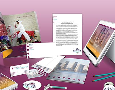 Doha 2024 Olympics Branding