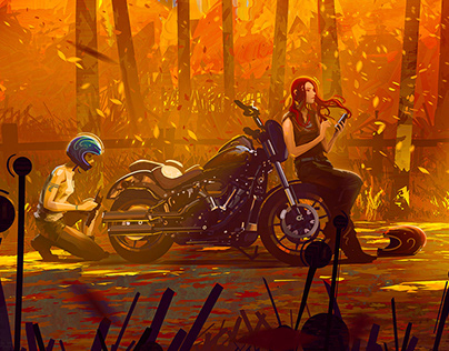 Autumn - Motogirls