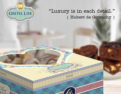 Box Kue, Dus Kue, Kotak Kue, Dus Kaca Hati - Gretel Lux