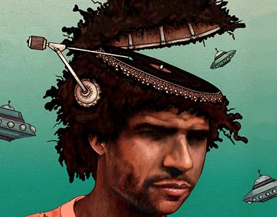 Poster Illustration | Jamie Jones Music