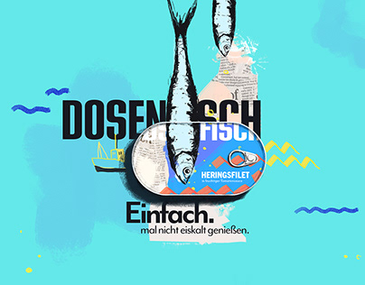 Dosenfisch – Branding concept for canned Fish
