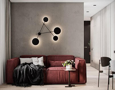 """Apartment in Moscow ZHK """"RED7"""""""
