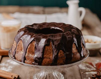 -Food Photography- Chocolate Cake
