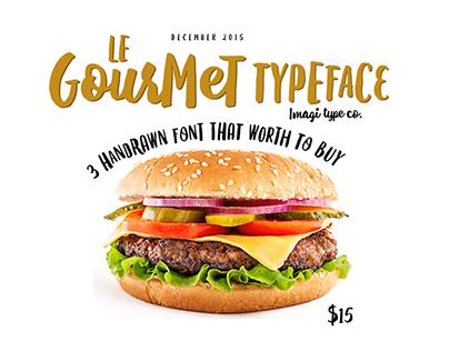 Le Gourmet Typeface