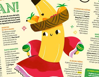 Petit Sápiens Magazine - Illustration
