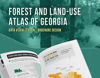 FOREST AND LAND-USE ATLAS of Georgia | Data | Brochure