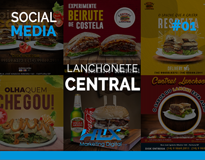 Social Media   Central Lanches #01
