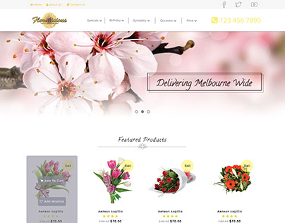 Floralicious has been giving blossoms in the Melbourne.