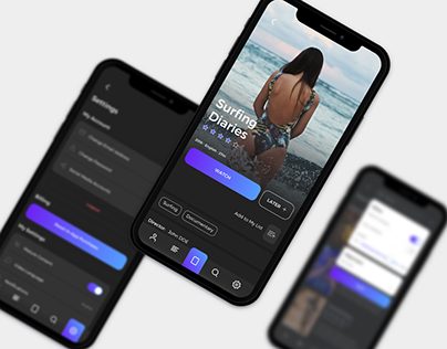 Frigo - Video App UI Kit
