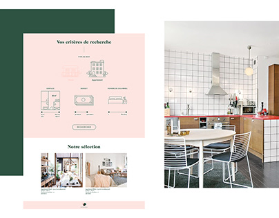 Real Estate Agency Coquard | Web Design