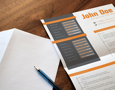 Creative Resume and Cover Letter Template