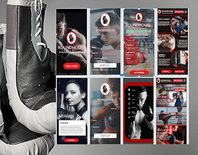Boxing Gym Mobile APP