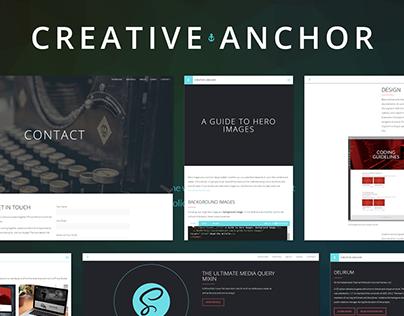 Creative Anchor Redesign