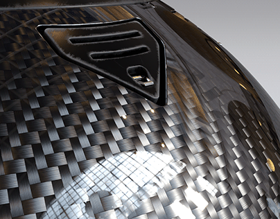 Carbon fiber Corona Shader