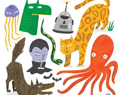 Various Beasties