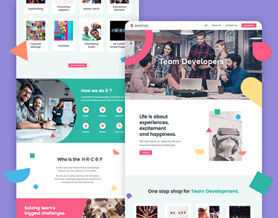 Briefar — web, branding