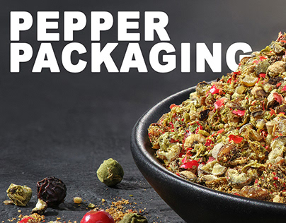 Pepper packaging