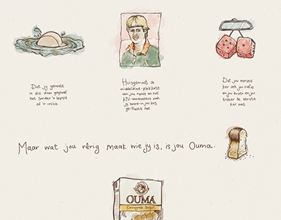 OUMA Rusks Press Ads