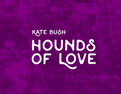 Capa do cd Hounds of Love reimaginada.