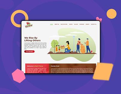 Website :: Dont Throw