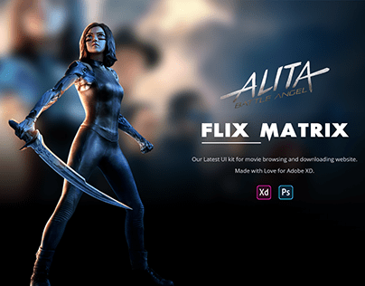Flix Matrix - Movie Browsing and Downloading Website