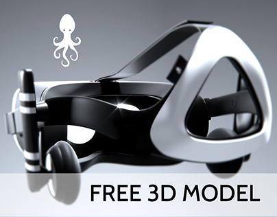 octopus drift [free 3d model]