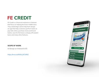 FE CREDIT app (UI/UX design)