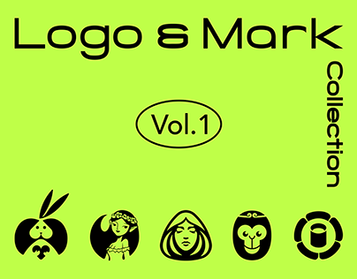 Animals/Plants/People Logo and typeface Collection 01