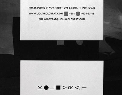 Lidija Kolovrat Branding Visuals