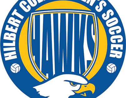 Hilbert Hawks Logo