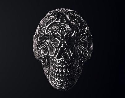 Sugar Skull Ring Animation