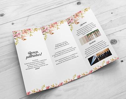 Wedding and GroomsMen Wedding Invitation