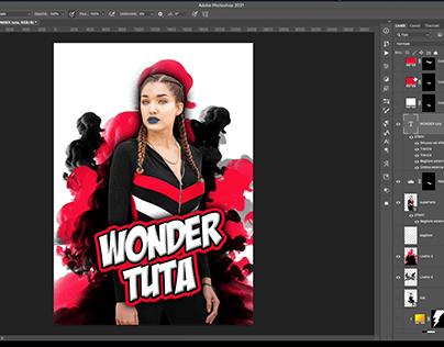 wonder tuta-photoshop-speed-art