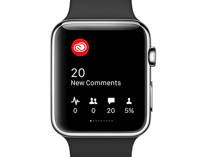 Adobe Creative Cloud for Apple Watch
