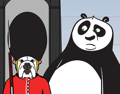 Po's journey home (Kung Fu Panda 3)