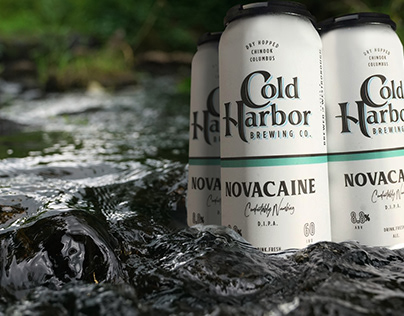 Cold Harbor Beer Cans