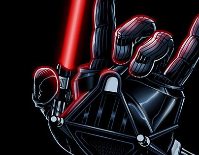 Darth Vader | Screaming Hands Parody