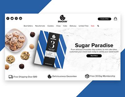 Snackin Branding Project