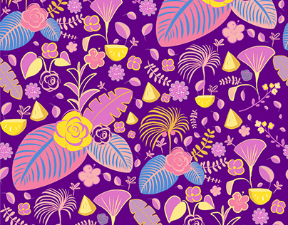 """""""Tropical Bliss"""" Surface Design"""